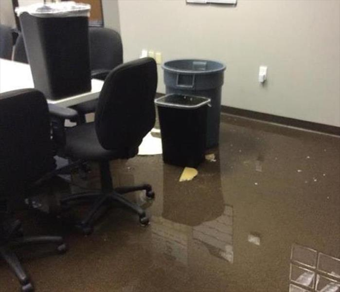 Kailua Commercial Flooding to an Office Before
