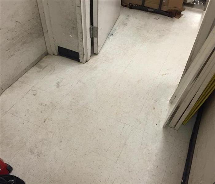 Mud Slide in a Shoe Store After