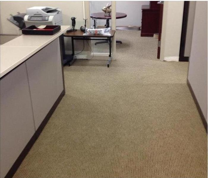 Kailua Office Flooded from a Broken Water Line After